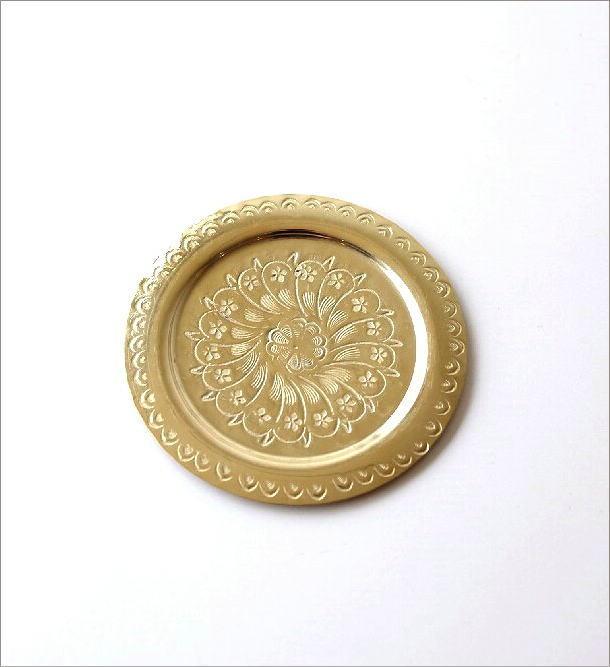 モロッコの真鍮トレー(3)