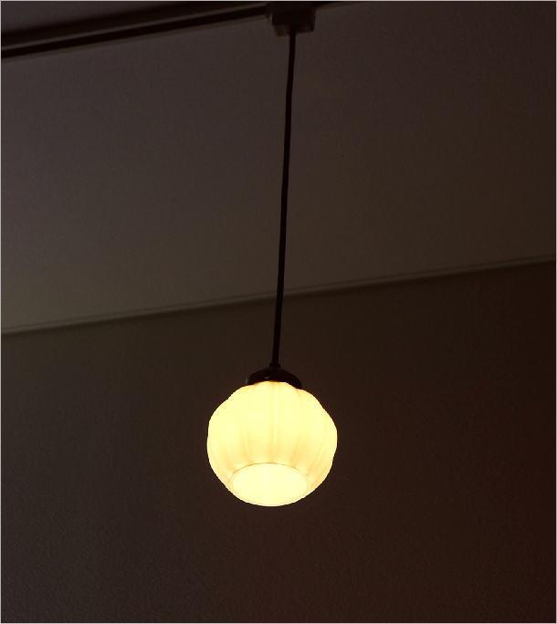 ガラスのペンダントライトフラワーA(1)