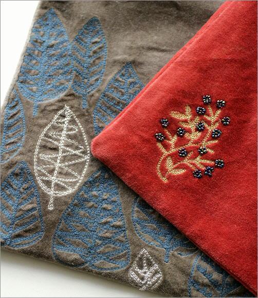 コットンベロア刺繍フラットバック 2タイプ(2)