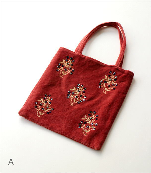 コットンベロア刺繍フラットバック 2タイプ(5)