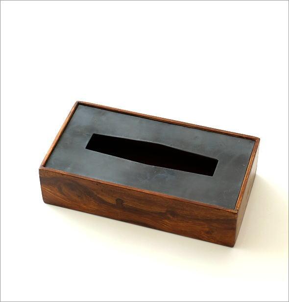 シーシャムとアイアンのティッシュボックス B(5)