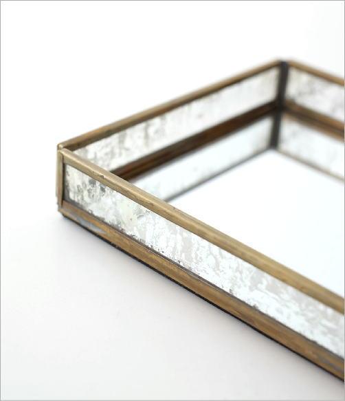 真鍮&ガラストレー 2タイプ(2)