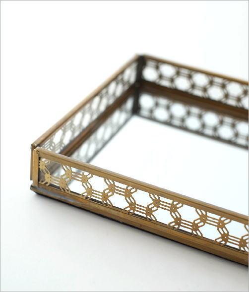 真鍮&ガラストレー 2タイプ(3)