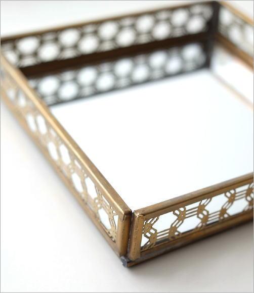 真鍮&ガラストレー 2タイプ(4)