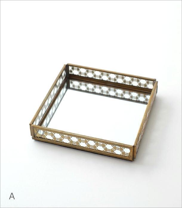 真鍮&ガラストレー 2タイプ(6)