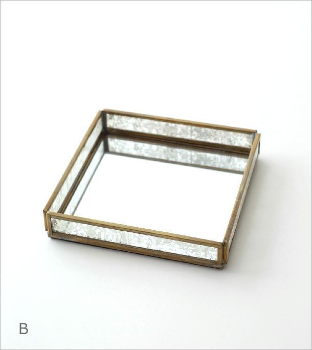 真鍮&ガラストレー 2タイプ(7)