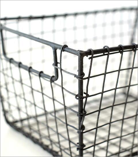 ワイヤー・バスケット レクタングル(2)