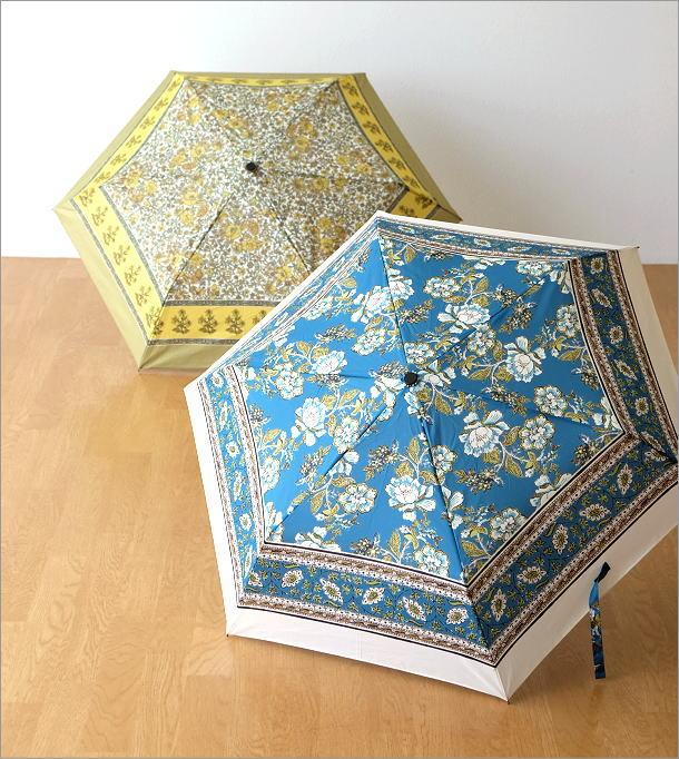 更紗柄折りたたみ傘 2タイプ(1)