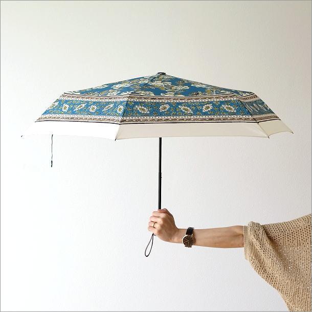 更紗柄折りたたみ傘 2タイプ(2)