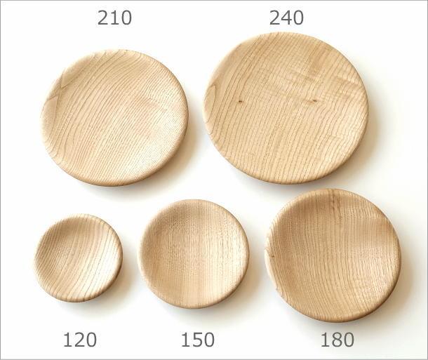 クリの木プレート 240(4)