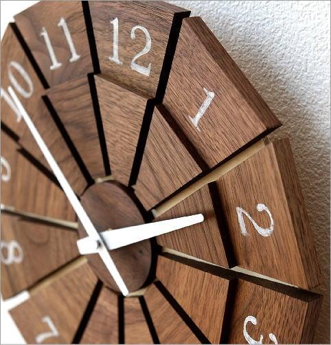 ウッド壁掛け時計SUN M2カラー(2)