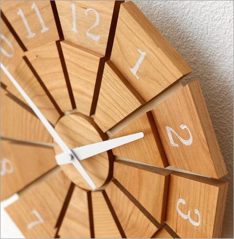ウッド壁掛け時計SUN M2カラー(3)