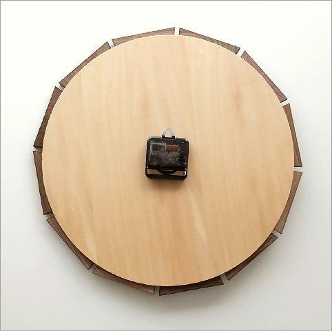 ウッド壁掛け時計SUN L(4)