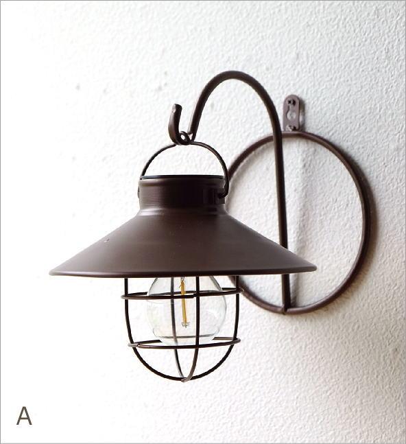 壁掛ソーラーガーデンライト2カラー(7)