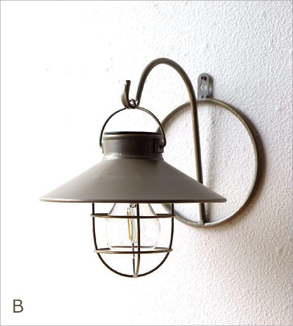 壁掛ソーラーガーデンライト2カラー(8)