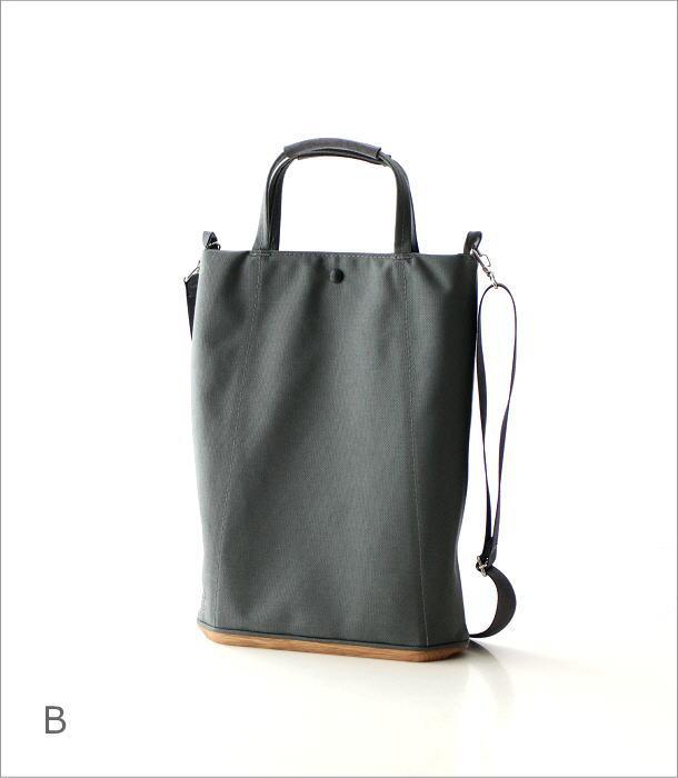 ウッドソールトートバッグ 3カラー(8)