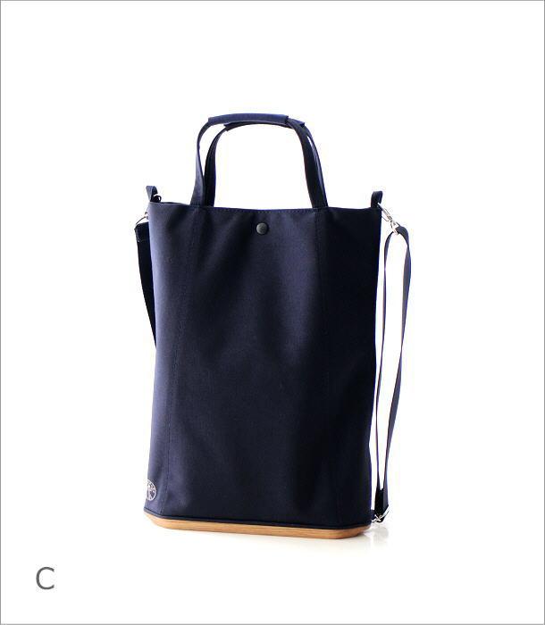 ウッドソールトートバッグ 3カラー(9)