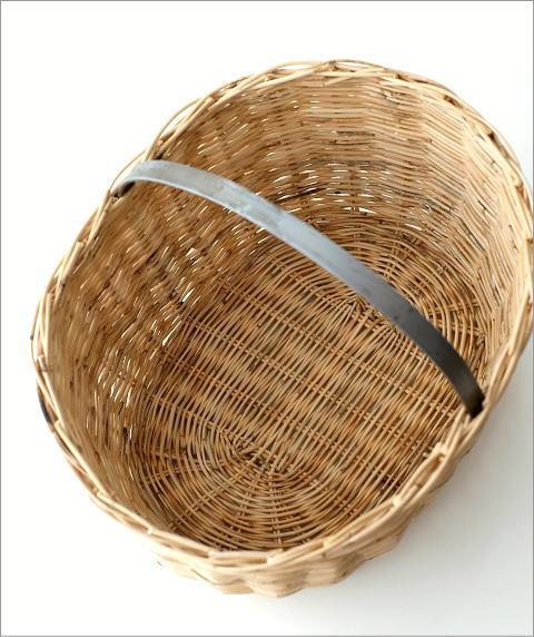 ラタンバスケットオーバル(3)