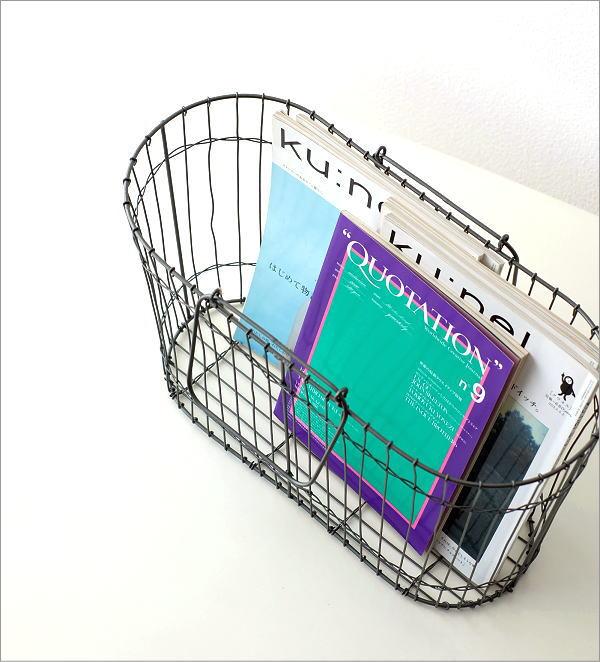 アイアンハンドルバスケット(1)