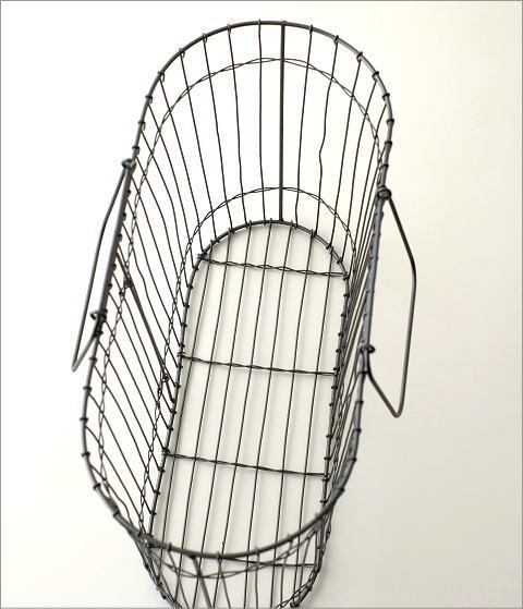 アイアンハンドルバスケット(3)