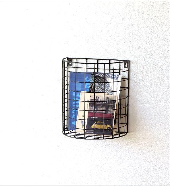 半円のアイアンバスケット(1)
