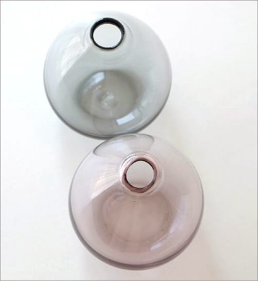 ガラスの一輪挿し チャビー2カラー(3)