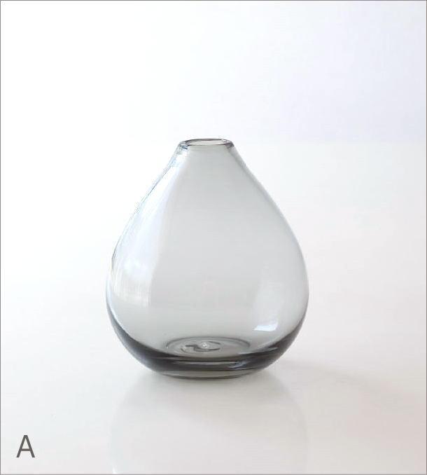 ガラスの一輪挿し チャビー2カラー(4)