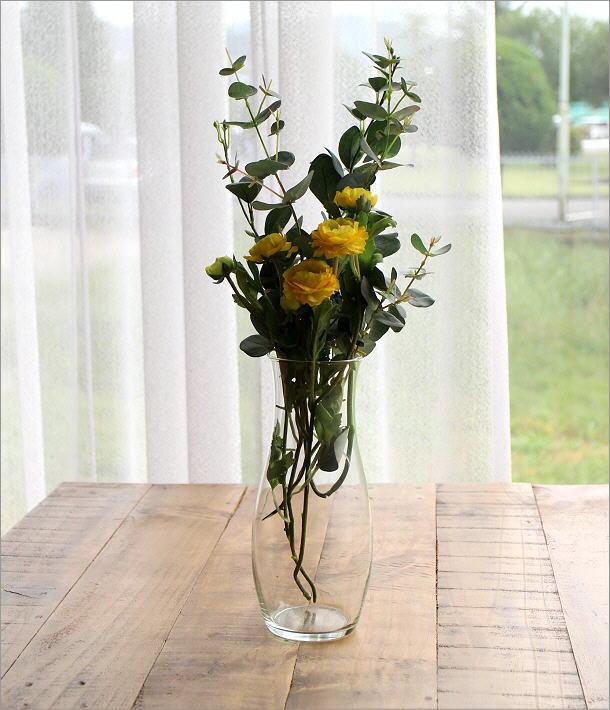 リューズガラスのフラワーベース スリーク(1)
