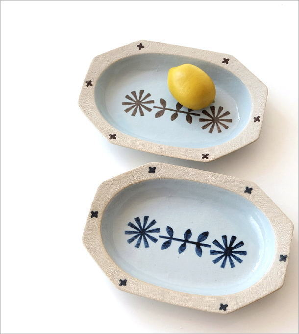 オーバル深皿 2カラー(1)