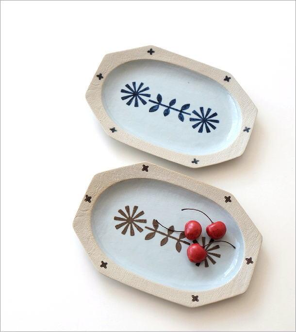 オーバル大皿2カラー(1)