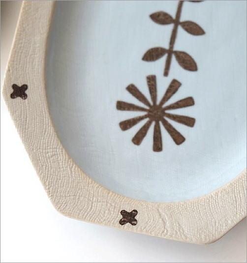 オーバル大皿2カラー(2)