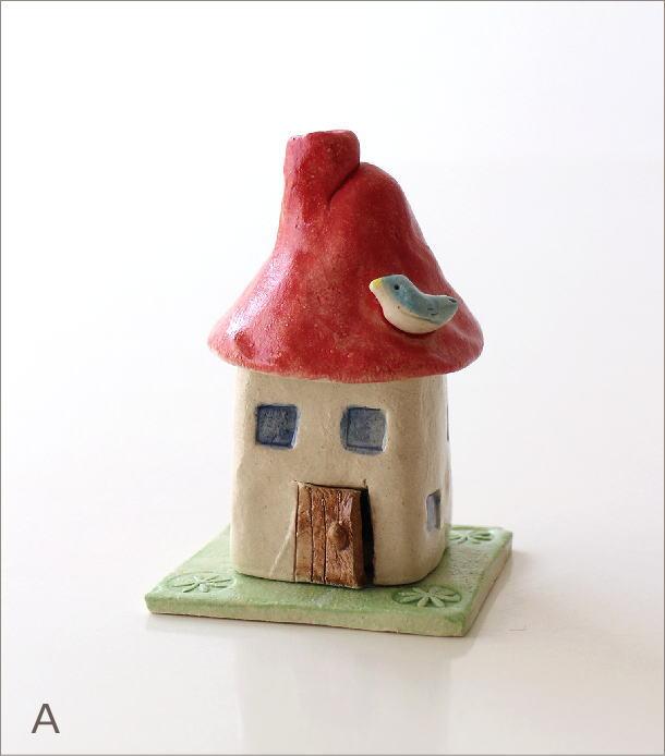 陶器の煙突家の香炉 2タイプ(5)
