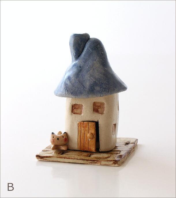 陶器の煙突家の香炉 2タイプ(6)