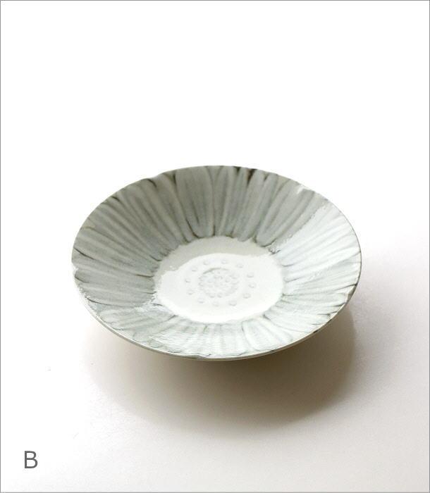 プレート深皿 ホワイトフラワー2タイプ(5)