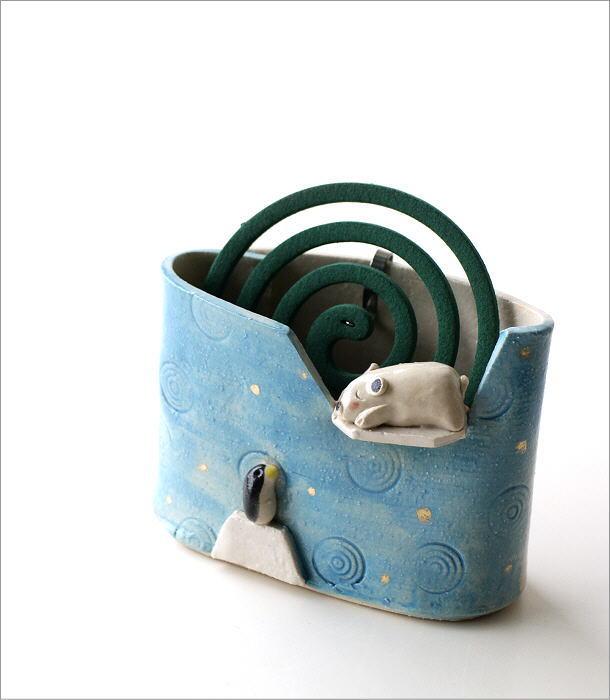 シロクマ線香鉢RK704(1)