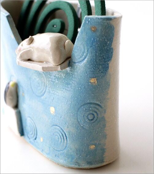 シロクマ線香鉢RK704(3)