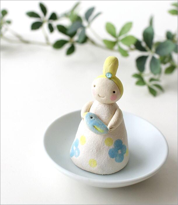 小さな妖精香立て 青い鳥(1)