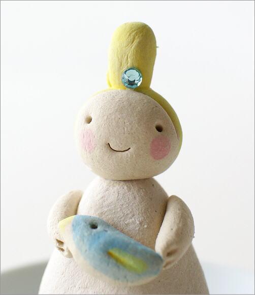 小さな妖精香立て 青い鳥(2)
