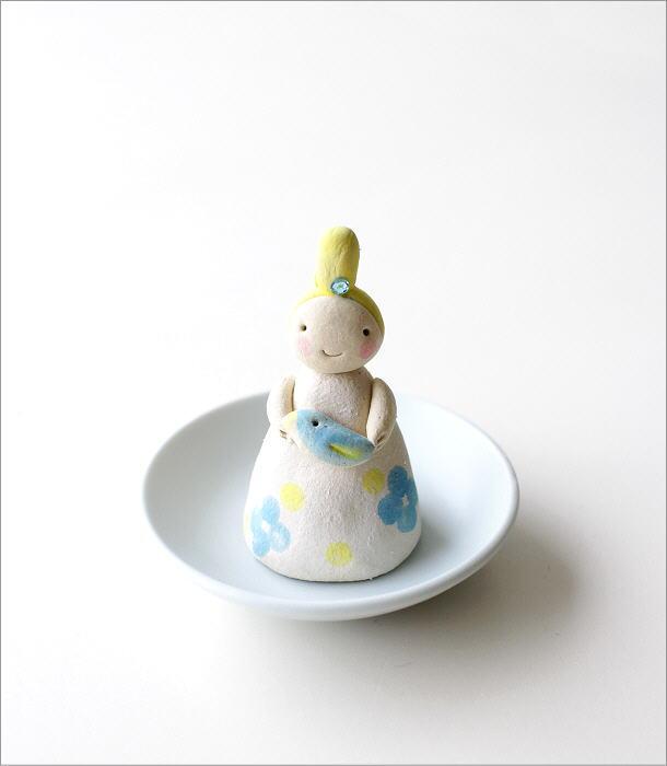 小さな妖精香立て 青い鳥(5)