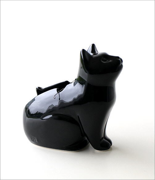 黒猫シルエット蚊遣り器 S29-811(5)