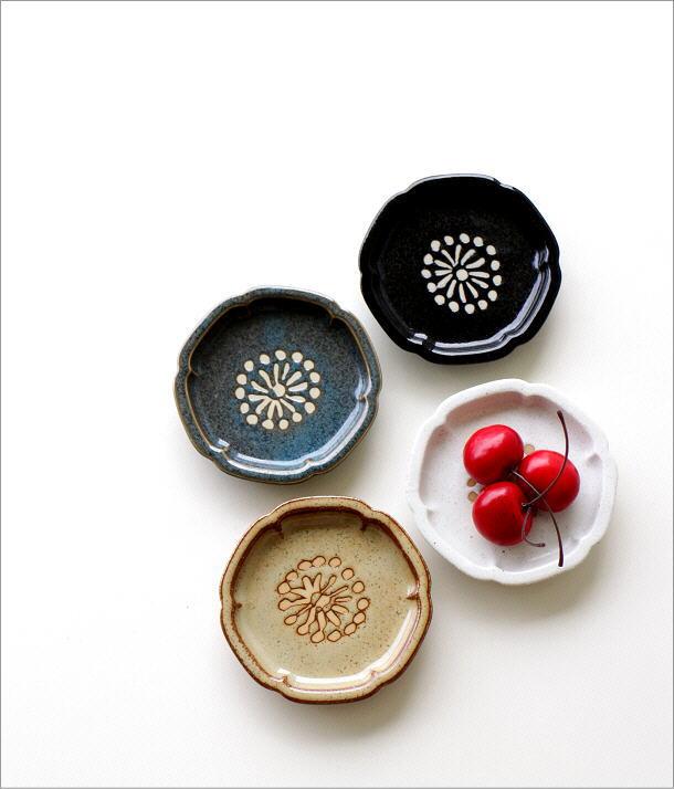 >花豆皿5枚セット 4カラー(1)
