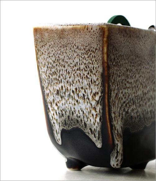 線香鉢(ブラウン)RK702(2)