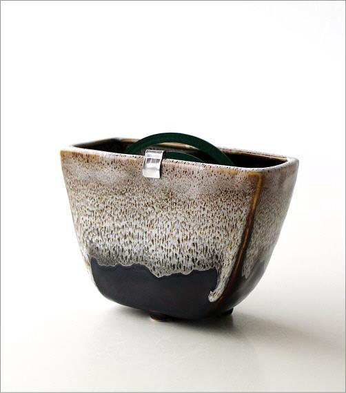 線香鉢(ブラウン)RK702(5)