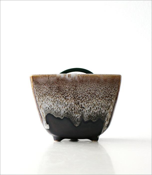 線香鉢(ブラウン)RK702(6)