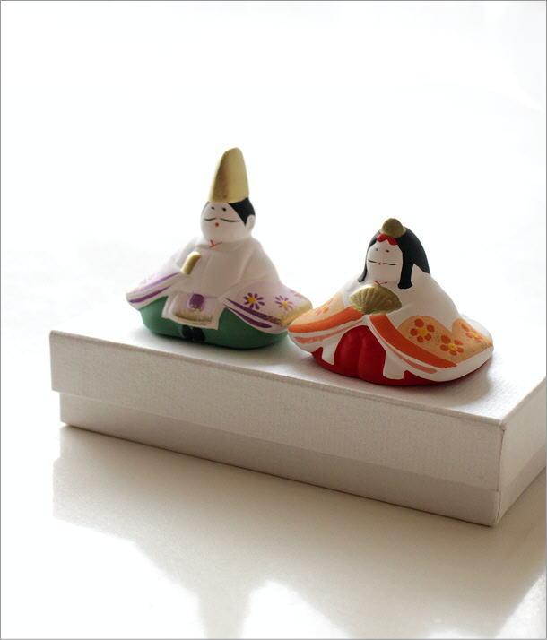 陶器のお雛様 座り(1)