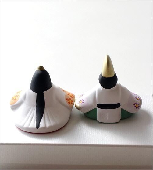 陶器のお雛様 座り(3)