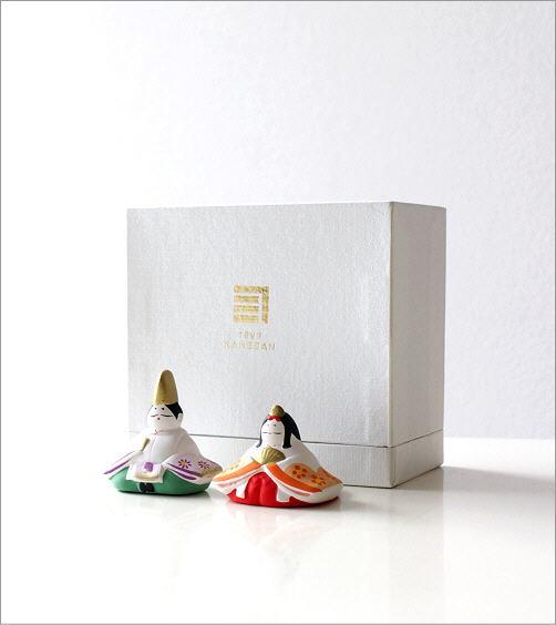 陶器のお雛様 座り(4)