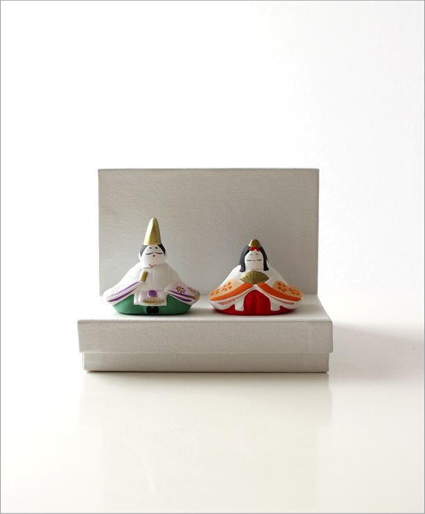 陶器のお雛様 座り(5)