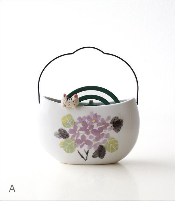 持ち手付き線香鉢3タイプ RK671.554.646(5)