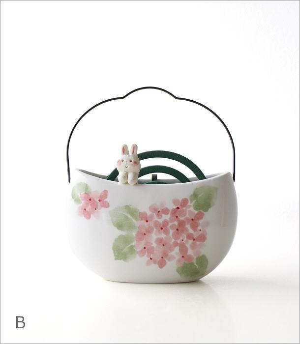 持ち手付き線香鉢3タイプ RK671.554.646(6)